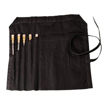 Fekete Blackwing Canvas Roll ceruzatartó